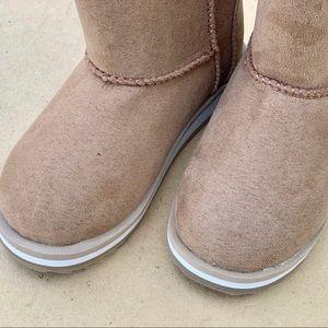 wonder nation Shoes - Wonder Nation Toddler Girls Faux Shearling Boots
